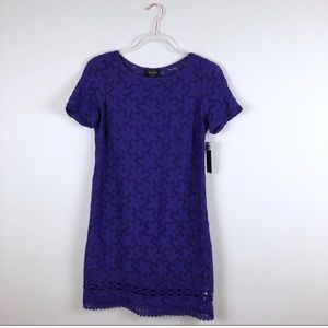Laundry by Shelli Segal Purple Lace Formal Dress 2